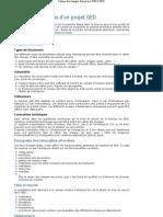 Cahier Des Charges d'Un Projet Ged