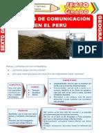 Las-Vías-de-Comunicación-en-el-Perú-para-Sexto-Grado-de-Primaria