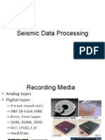 Seismic Data Processing