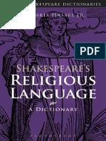 Shakespeare's Religious Language