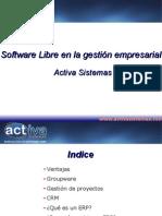 Software Libre en la gestión empresarial