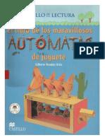 LIBRO MARAVILLOSOS AUTOMATAS DE JUGUETE