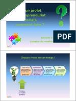Projet d'Entrepreneuriat (Social), Comment Faire