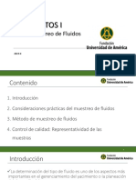 Clase 2a - Análisis PVT - Muestreo de Fluidos