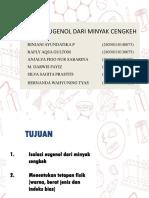 ISOLASI EUGENOL DARI MINYAK CENGKEH 2(1)(2)