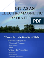 Wave Particle Duality of Light