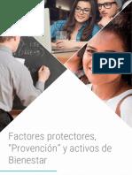 Factores protectores Provención y activos de Bienestar