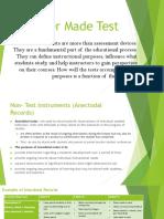 Teacher-Made-Test BEV