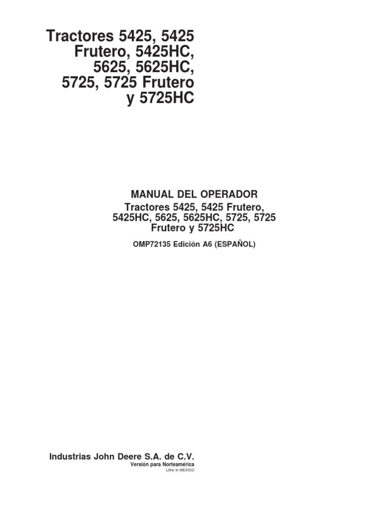 peso 1,55 kg John Deere husillo longitud 178 mm X 105 X 135 R X 115 R