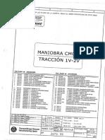 THYSSEN (Manual de Maniobra Serie CMC-3 Tracción 1v.-2v.)