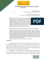 Ensino técnico-profissionalizante relatos sobre vivências no estágio de observação