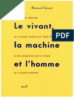 Louart_Le vivant, la machine et l'homme.pdf
