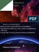 Grace - constellations