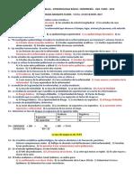 EXAMEN 2019 ..MAESTRÍA EN  SALUD PUBLICA. EPIDEMIOLOGIA BASICA