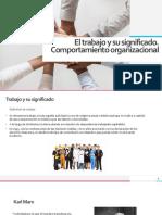 trabajo y comportamiento organizacional