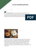 El Bicentenario y las comidas patrias - LA NACION