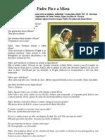 Padre Pio e a Missa