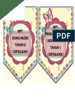 Label rpt