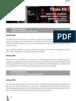 0170 Titulo XV. Normas de Seguridad Aplicables a Faenas Mineras Que Indica 594-635