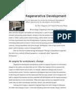 Regenerative Development