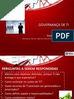 1 - Fundamentos de Governança de TI