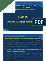 Cap. Ix Nocion de Nivel Estructural