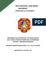 REGLAMENTO DE DISTRIBUCIÓN DE CARGA MODIFICADO CON DIRECTORES