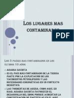 Los lugares mas contaminados.pptx