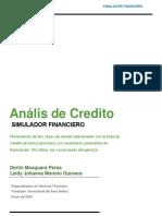 Simulador financiero