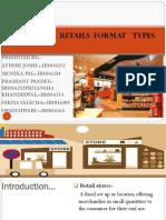 ANALYSIS OF RETAIL FORMATE TYPES