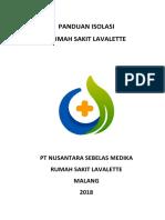 PANDUAN ISOLASI 2018