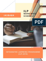 MAINS-2019-ILP-PLAN