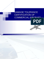 Damage Tolerence certificate.ppt