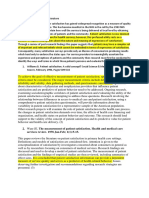 Patient satisfaction review literature