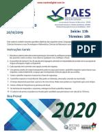 Prova Objetiva 1 Dia - UEMASUL 2020