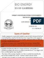 Types of Gasifier