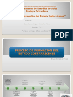 Proceso de Formación del Estado Costarricense (Bryan González Pérez)