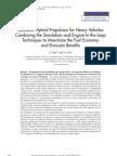 Hydraulic Hybrid Propulsion for Heavy Vehicles