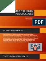 FACTORES DE RIESGO PSICOSOCIAL