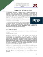 Anexo I.- Manual de Inspección