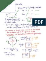 2.4 Circular Motion