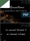 le romantisme mvt littéraire