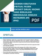 Asesmen Kebutuhan Spiritual Pasien Penyakit Ginjal Kronik.pptx