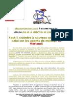 000 Déclaration de la CGT - 3 décembre 2010