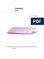 Bluetooth Keyboard User's Guide_Windows2000XP