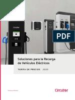 202002 Circutor Tarifa de Precios Soluciones Para La Recarga de Vehículos Eléctricos 2020