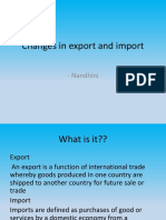 Changes in export and import.pptx