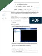 openfoam installation guide