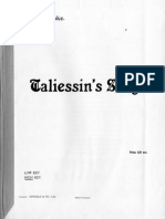 Taliessin's Song, Op.74 (Holbrooke, Joseph)_Piano