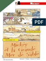 Mickey et la grande mer de sable